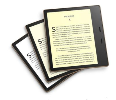 Amazon Kindle Oasis 2019 photo