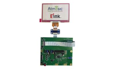 Atmosic E Ink ebadge reference design photo