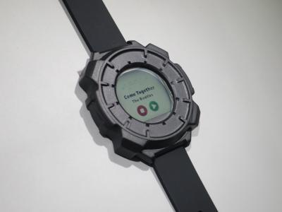 CLEARink wearable display prototype (SID 2018)