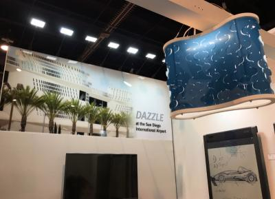 E Ink Dazzle at CES 2018