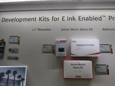 E Ink Dev-Kits at SID 2016