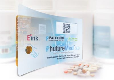E-Ink, HTC and Palladio - smart healthcare packaging photo