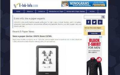 E-Ink-Info new responsive design (2015)