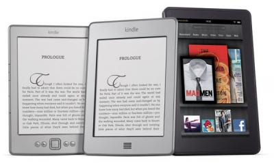 Amazon Kindle 2011 product range