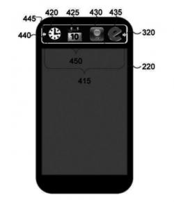 Samsung E Ink phone cover patent photo
