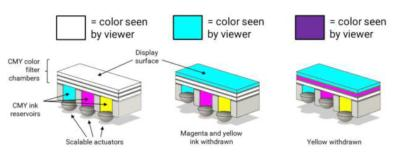 Solchroma full-color system schematic
