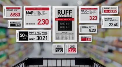 SoluM's range of ESL products