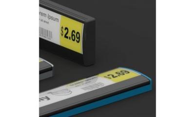 UST Global, Plastic Logic flexible ESLs photo