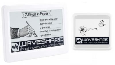 Waveshare 4.2'' and 7.5'' NFC-powered E Ink monitor photo