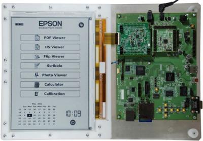 Epson 9.7'' 300 PPI E Ink prototype display
