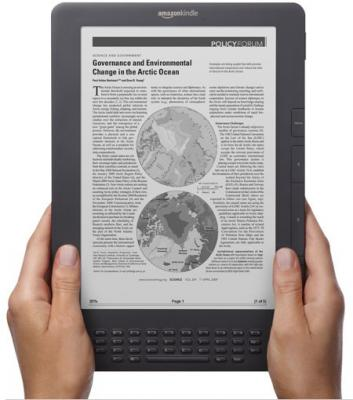Amazon Kindle DX Graphite photo