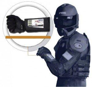 HP Flexible, solar powered wrist E Ink display photo