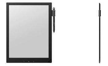 Sony 13.3'' flexible E Ink ''digital paper'' prototype photo