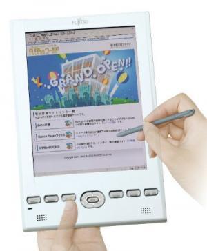 Fujitsu Fpedia e-book reader