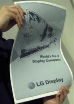 LG Display 19'' flexible E Ink photo