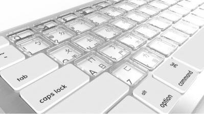Sonder keyboard photo