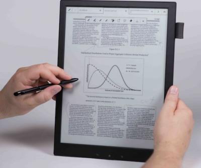 Sony 13.3'' Digital Paper photo