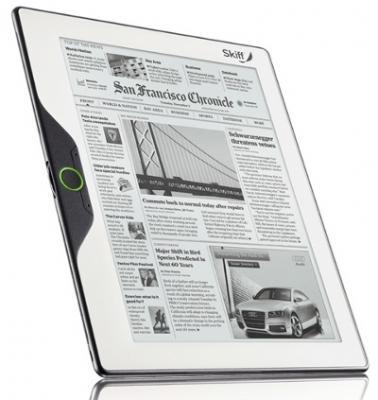 Skiff e-reader photo