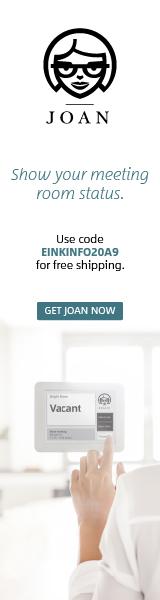 Visionect JOAN ad